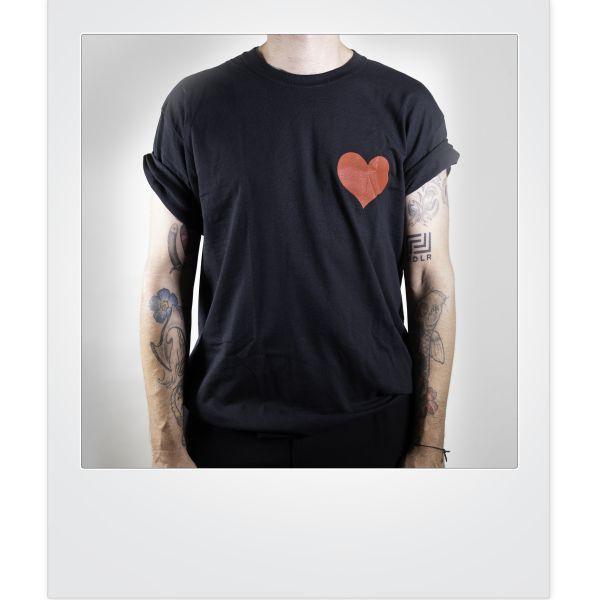 Moses Pelham-Rotes-Herz-Shirt (limitiert)