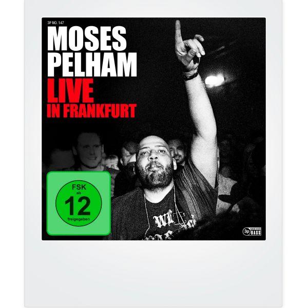 Moses Pelham - Live in Frankfurt (2CDs + DVD)