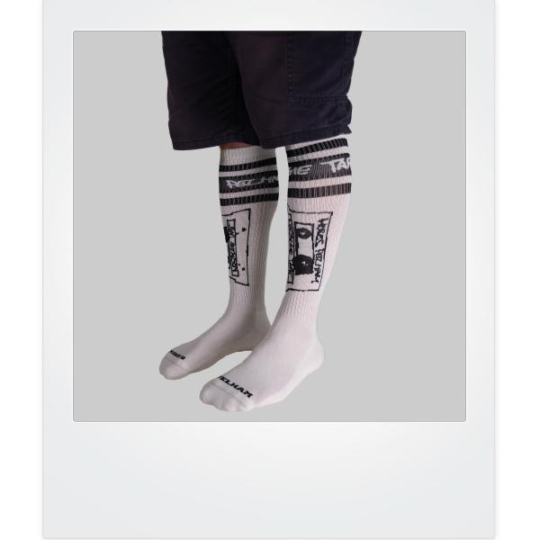 NOSTALGIE TAPE X Spirit of 76 Socks (Hi)