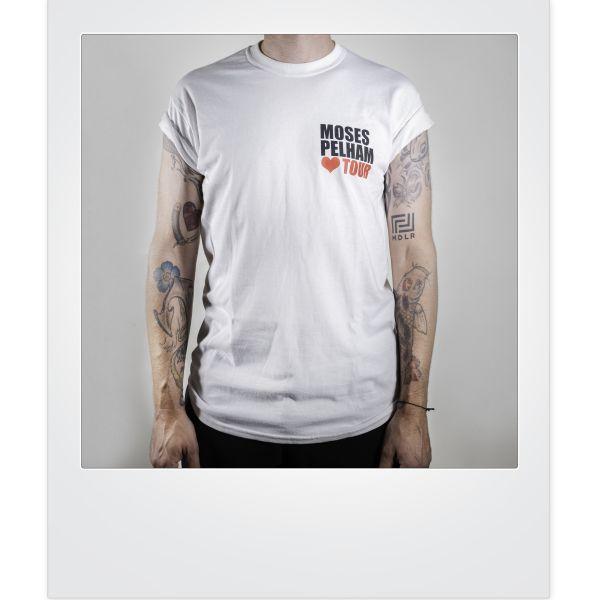 """Moses Pelham-""""Herz-Tour""""-Shirt (limitiert)"""