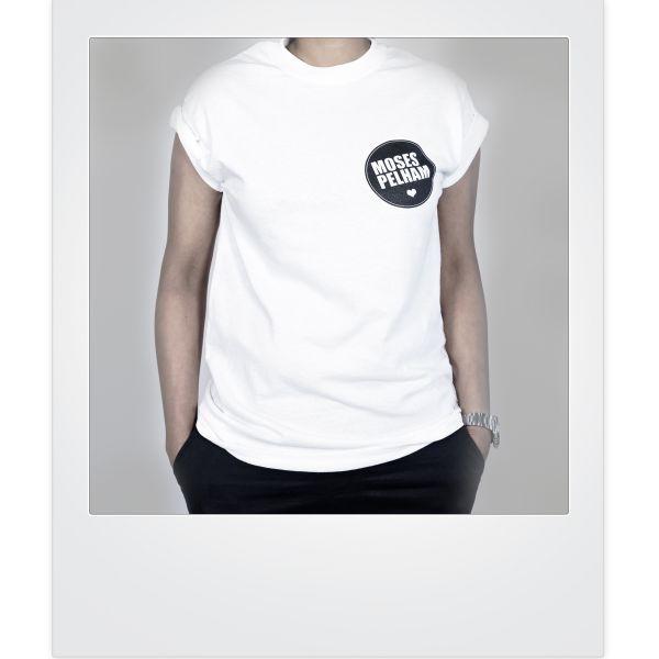 Moses Pelham-Herz-Shirt (white)