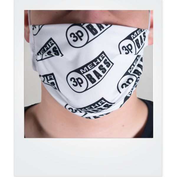3p Mehr Bass-Mund-Nasen-Bedeckung