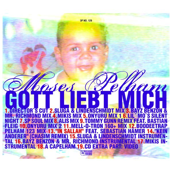 Moses Pelham - Gott liebt mich (Single-CD)