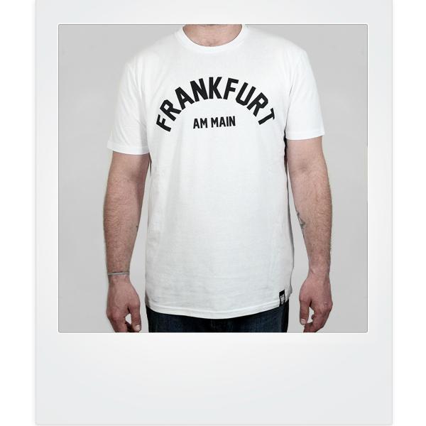 Frankfurt am Main-Classic-Shirt weiß
