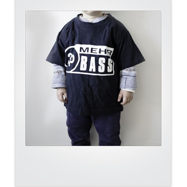 Kids 3p Mehr Bass-Shirt
