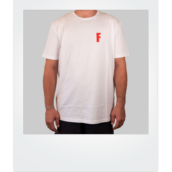Rotes F-Shirt